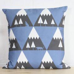 Mountain Range Cushion