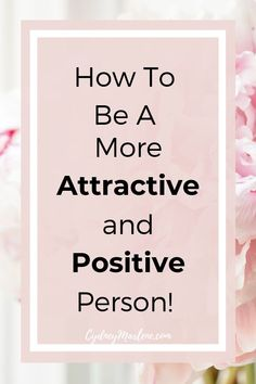 There is much more to being an attractive and positive person than you may think! It isn't and shouldn't be all about looks. Discover how to be likable, confident, attractive, and positive. A happy and positive life starts with you! Attitude Positive, Positive Mindset, Positive Vibes, Positive Living, Self Confidence Tips, Gaining Confidence, Confidence Building, Self Development, Personal Development