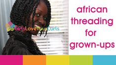 ♥ 41 ♥ African Threading For Grown-Ups! Awesome protective style for natural that last longer than two strand twist. Haircut Styles For Women, Short Haircut Styles, Cute Short Haircuts, African Threading, Hair Threading, Twist Hairstyles, African Hairstyles, Cool Hairstyles, Kinky Hairstyles