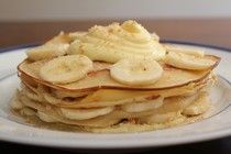To try? Banana cream crepes! Crepe Recipes, Banana Cream, Looks Yummy, Crepes, Nom Nom, Sweet Tooth, Pie, Vegetarian, Yummy Food