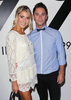 Choreographers Emma Slater and ex-boyfriend, Sasha Farber during the All In For The 99% event...