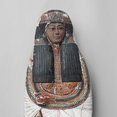 Mummy Board of Iineferty. Ramesside, Dynasty 19, reign of Ramesses II, ca. 1279–1213 B.C. From Deir el-Medina, Tomb of Sennedjem (TT 1), Egyptian Antiquities Service/Maspero excavations, 1885–86