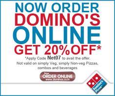 Domino's Pizza January Discount Voucher Code