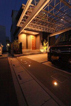 室内からの景観、実用性を考えたテラススペース 有限会社諒心工業 埼玉県T様邸-Lighting Meister
