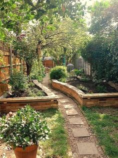 backyard garden? | 56 Enchanting Garden Paths #BackyardGardening