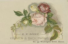 Kranich & Bach Pianos | by Miami U. Libraries - Digital Collections