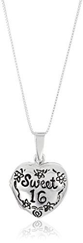 """Sterling Silver """"Sweet Heart Locket Necklace, Sterling silver necklace featuring """"Sweet locket that opens up to store a treasured photo^Box chain with spring-ring clasp^Crafted in sterling silver^Imported Heart Locket Necklace, Men Necklace, Initial Necklace, Fashion Necklace, Fashion Jewelry, Women Jewelry, Pendant Necklace, Necklaces With Meaning, Girls Necklaces"""