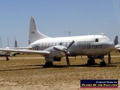 Photo of Convair C-131 Samaritan, S/N 72552, military version of the Convair 240