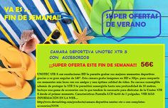 Súper Oferta de Verano!!! Cámara Deportiva Unotec xtr-s entra en la web...código invitación 225 www.todastuscompras.com