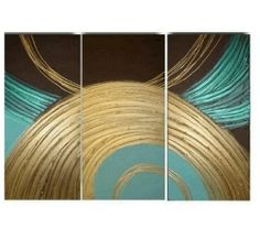 3 Piece Wall Art 100% Hand Painted Oil Painting Modern Art Group Painting Large Canvas Art Free Shipping (Unstretched and No Frame) Aliart,http://www.amazon.com/dp/B00B8L60MM/ref=cm_sw_r_pi_dp_dg2dtb1XZT183RC7