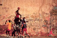 Michael Jordan 'Playground' Nike Air Jordan Poster (1989)