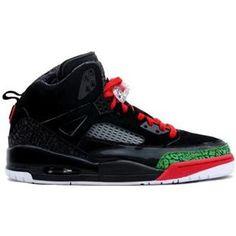 a7175d458b65a6 Cheap Buy Nike Air Jordan Spizike Black And Varsity Red-Classic Green  Sneaker Deals Store