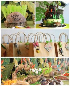 Bug + Insect Birthday Party via Kara's Party Ideas   Cake, decor, printables, games, supplies, and more! KarasPartyIdeas.com (4)