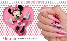 2mbeauty extreme nails with Minnie :)