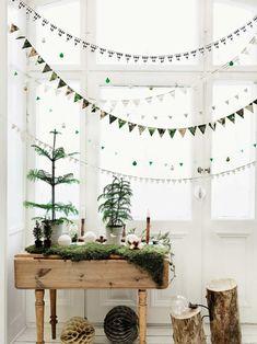 10 ideias de decoração de Natal estilo escandinavo - limaonagua