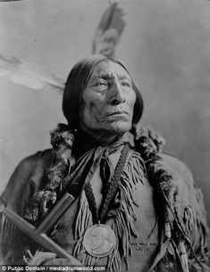 """""""Wolf Robe Southern Cheyenne and holder of the Benjamin Harrison Peace Medal. During the late he was forced to leave the open plains and relocate his tribe on to the Cheyenne and Arapaho Indian Reservation in Indian Territory. Native American Warrior, Native American Pictures, Native American Tribes, Native American History, American Indians, Native Americans, Indiana, Cheyenne Indians, By Any Means Necessary"""