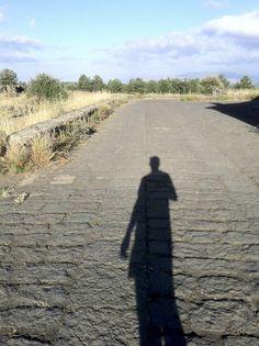 Running in Sicily.