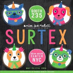 Getting super excited about Surtex 2016