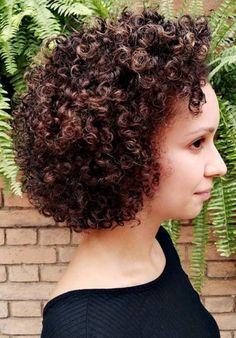 Short Curls, Curly Hair Styles, Short Wavy Hair