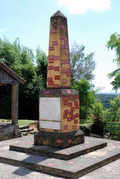 Monument vivant de Biron - jochen gerz monument aux vivants