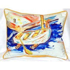 Found it at Wayfair - Row Boat Indoor/Outdoor Lumbar Pillow