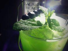 Liquid Marihuana, Malibu, Bacardi, Blue Curacao, Pineapple, Sweet & Sour Mix
