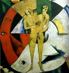 """Marc Chagall - """"Homage to Apollinaire"""", 1911"""