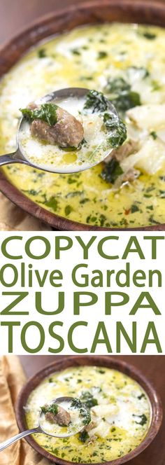 Zuppa Toscana Soup is a flavorful recipe that's both easy to eat and to make. It is filled with healthful kale, a superfood full of essential nutrients.
