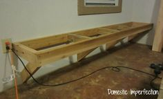 Built-In Outdoor Bench