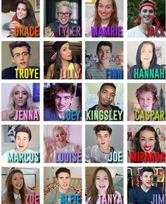 Youtubers ❤