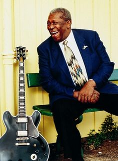 B. B. King...there is nothing more to say. Simply fantastic!
