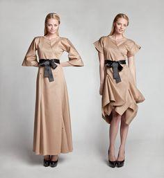 Milan - Beige dress: Jolier