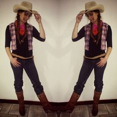 33 diy country girl costumes cowgirl costume costumes and pin for later 37 ingenious halloween costume ideas that cost just 1 costumes cowgirl woody from toy story solutioingenieria Gallery