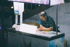 People of Shanghai XVIII by Edgar Bahilo Rodríguez on Beijing, Shanghai, Suzhou, China, People, People Illustration, Porcelain, Folk