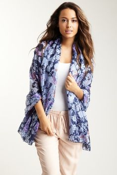 butterfly escape scarf by spun by subtle luxury