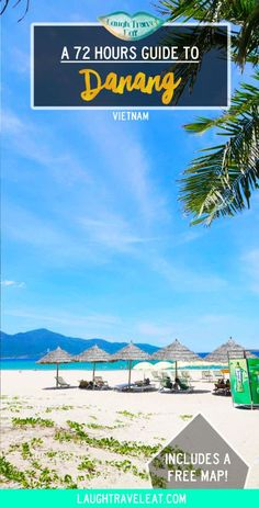 Danang is the third largest city in Vietnam. It has some of the most beautiful beaches and cheapest street food I've ever seen