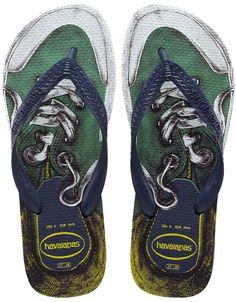 54b6f0661e45d6 Top Soul Havaianas  Navy Blue Flip Flop Sandals