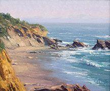 Matt Smith Plein Air Artist Landscape Painter of the American West California Coast. Watercolor Landscape, Landscape Art, Landscape Paintings, Seascape Paintings, Watercolor Paintings, Beach Paintings, Watercolor Pictures, Coastal Art, California Coast