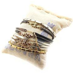 Sac of #ScoshaStacks with our signature bracelets