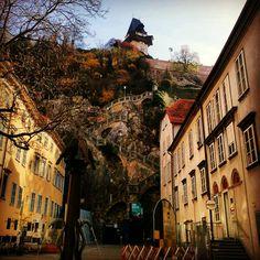The Uhrturm - Graz, Austria  http://www.travelandtransitions.com/austria-travel/