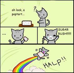 #SugarRush nyan cat @Mandy Robinson
