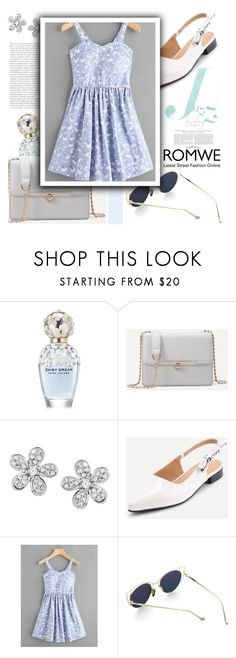 """Jazz baby"" by gina-m ❤ liked on Polyvore featuring Marc Jacobs, contest, dress, romwe and fashionset"