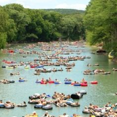 Guadalupe River- You have not LIVED until you have floated the river... so.much.fun.... I'm ready to see what this is all about