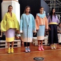 WILB: Architectural Fashion   Xiao Li