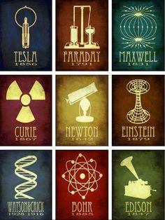 The heroes of science | Things for Geeks