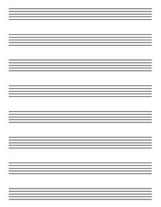 5 Best Images of Free Printable Staff Paper Blank Sheet Music - Blank Guitar Sheet Music Paper, Blank Sheet Music Treble Clef Staff and Free Printable Blank Music Staff Paper Music Sheet Paper, Free Violin Sheet Music, Blank Sheet Music, Printable Sheet Music, Violin Music, Free Printable, Piano Sheet, Music Music, Guitars