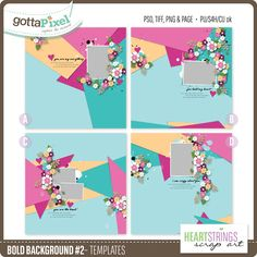 Bold Background #2 Templates : Heartstrings Scrap Art  http://www.gottapixel.net/store/product.php?productid=10031651&cat=0&page=1