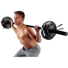 Gold's Gym Olympic Weight Set 110 lbs Black Plates Barbell Home Exercise NEW Barbell Weights, Gym Weights, Barbell Gym, Weight Lifting Workouts, Fun Workouts, Weight Bench Set, Olympic Weight Set, Squat Lift, Bar Workout