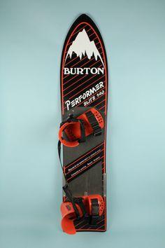 This was my first snowboard! Vintage Retro Burton Snowboard 1980s 1985 Collector