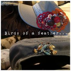Birds of a feather hat!